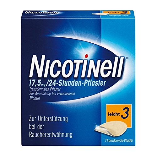 Nicotinell 17,5 mg 24-Stunden-Pflaster, 7 St