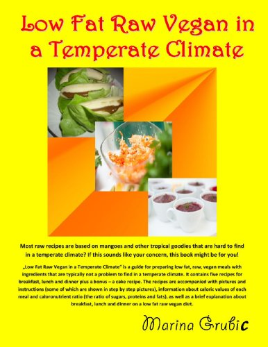 Low Fat Raw Vegan in a Temperate Climate by Marina Grubic