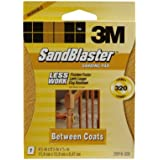 3M SandBlaster 21916-320 Between Coats Sanding Sponges, Fine 320