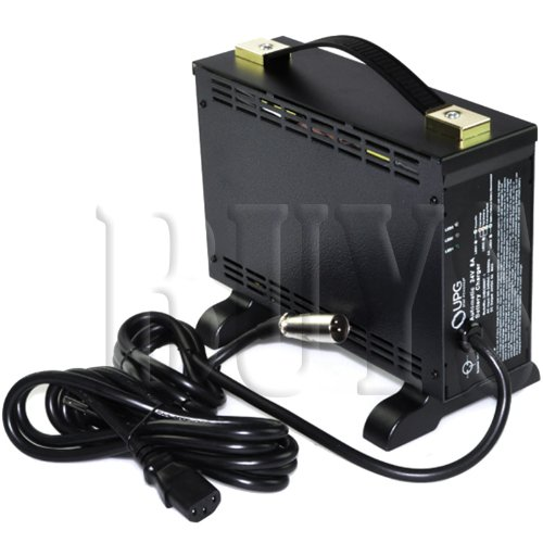 Eleasmb5669, Ele110V1041, 18330-48, Ck84207000, A24080-10D, Elechg1017 Replacement Off-Board Premium Quality Heavy Duty Battery Charger, 24 Volt 8 Amp, 24V8A 24Bc8000T-1 Xlr Connector For Sealed Agm, Gel For Pride Mobility, Cte, Battery Maximizer, Trupowe