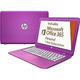 "HP - Stream 13.3"" Laptop - Intel Celeron - 2GB Memory - 32GB Flash Storage - Orchid Magenta/Tulip Purple/Lily Pink"