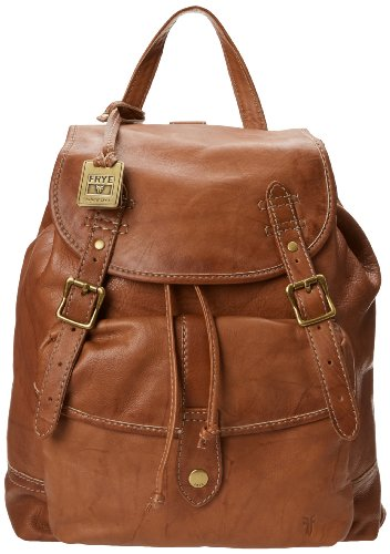 FRYE Campus Backpack,Saddle,One Size