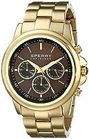Sperry Top-Sider Men's 10018651 Halyard Analog Display Japanese Quartz Gold Watch from Sperry Top-Sider Watches MFG Code