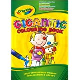 Crayola Gigantic 130 Page A4 Colouring Bookby Crayola