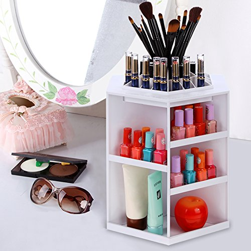 Homdox Tabletop Rotating Cosmetic Organizer (Tabletop Cosmetic Organizer compare prices)