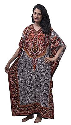 Sante Classics Women's Poly Microfiber Caftan Sultan's Delight One Size