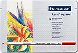 カラト アクェレル 水彩色鉛筆 12色セット 125 M12