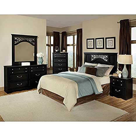 Madera Panel Headboard Bedroom Set