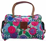 Oilily Floral World Carry All – Turquoise