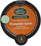 16 Count - Green Mountain Pumpkin Spice Flavored Vue Cup Coffee For Keurig Vue Brewers