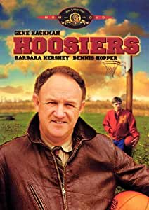 Hoosiers Movie Poster (27 x 40 Inches - 69cm x 102cm) (1986) Style B -(Gene Hackman)(Barbara Hershey)(Dennis Hopper)(David Neidorf)(Sheb Wooley)(Fern Parsons)