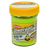 PowerBait FW Natural Garlic Scent Glitter Trout Fishing Bait (Yellow)