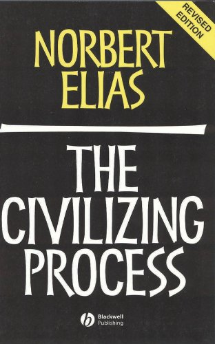 The Civilizing Process: Sociogenetic and Psychogenetic...