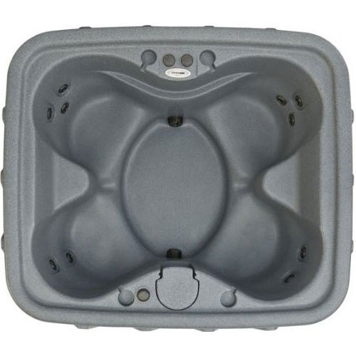 X-400 Silver Portable Spa With Green Package