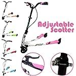 Adjustable Kids 3 Wheels Foldable Spe...