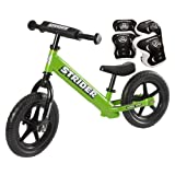 *Strider ST-4 Balance Bike with Elbow Pads & Knee Pads* by Strider Balance Bike