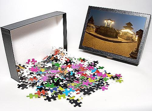 Photo Jigsaw Puzzle of Durbar Square containg from the left the Chyasin Dewal temple