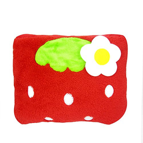 MyKazoe Kids Plush 2-in-1 Pillow Blanket (Strawberry)