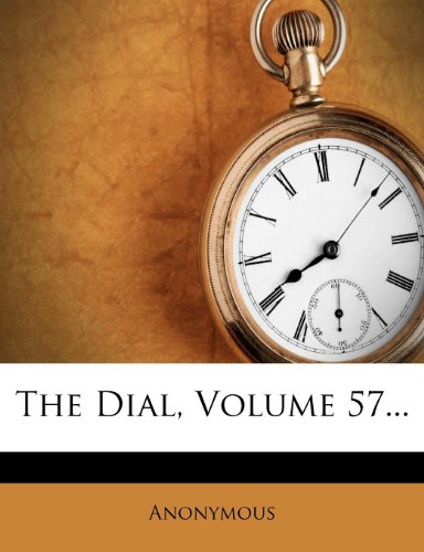 The Dial, Volume 57...