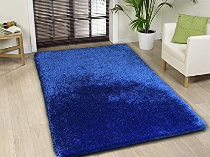 Blue Area Rug 5x8 Shag High End Source Abuse Report