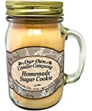Homemade Sugar Cookie Scented 13 oz Mason Jar Candle - Made in the USA by Our Own Candle Company
