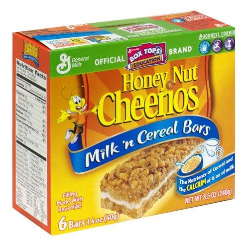 general-mills-milk-n-cereal-bars-honey-nut-cheerios-6-bars-per-85-oz-box-pack-of-6-boxes-by-general-