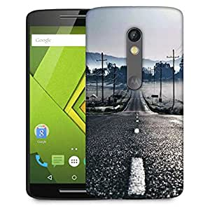 Snoogg Road To Peace Designer Protective Phone Back Case Cover For Moto G 3rd Generation