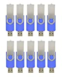 FEBNISCTE 10PCS Swivel 256MB USB 2.