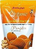 organic baked dog treats pumpkin 14oz