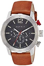 Esprit Analog Grey Dial Mens Watch-ES109171004