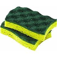 O-Cedar Scrunge Heavy-Duty Scrubber Sponge-2PK HEAVY DUTY SCRUNGE