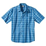 Jack Wolfskin Hot Chili Men's Shirt blue Brilliant Blue Checks Size:S