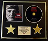 WILLIE NELSON/CD DISPLAY/ LIMITED EDITION/COA/LEGEND - THE BEST OF