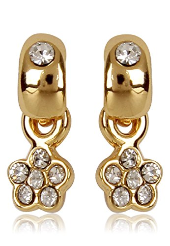 Estelle Gold Plated Stud Earring With Crystals (352/721)