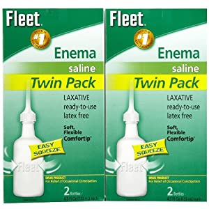 Fleet Adult Enema, Ready To Use, Twin Pack, 9 Oz