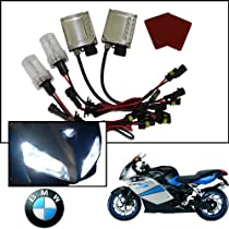 TGP H7 10000k Deep Blue AC HID Xenon Kit (Low and High Beam) 2005-2009 BMW K1200GT (No Factory HID)