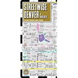 Streetwise Denver Map - Laminated City Center Street Map of Denver, Colorado - Folding pocket size travel map with light rail map, trolley, Boulder inset