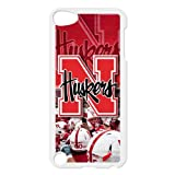 Topsellcasestore Custom Case For Cell Phone NCAA Nebraska Cornhuskers Huskers Case for IPod Touch 5th Top Case Show at Amazon.com