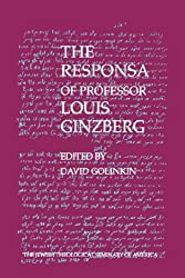 The Responsa of Professor Louis Ginzberg