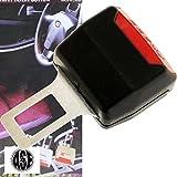 シートベルト警告音キャンセラー黒1個 全車種対応 as39