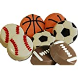 Chocolate Covered Oreo Cookies - Sports Ball (Soccorball)