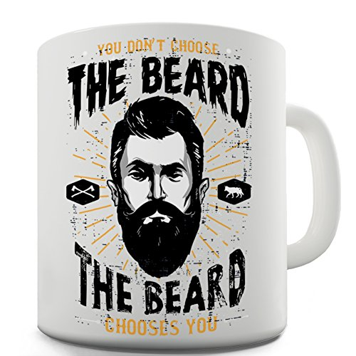 Choose Beard Joke Gift Tea Coffee Mug