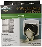 PetSafe Staywell 4-Way Locking Cat Flap, White