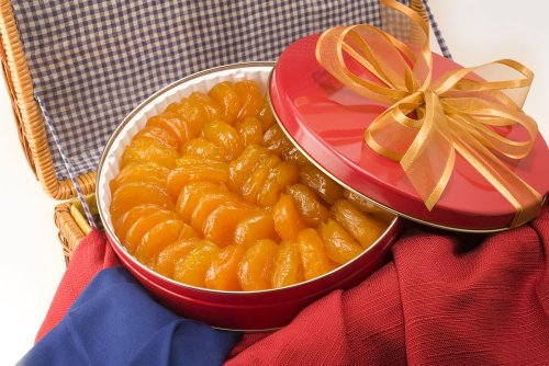 Australian Glazed Apricots Gift Tin