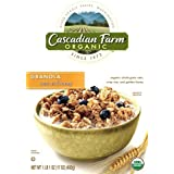 Cascadian Farm Oats And Honey Granola, 17-Ounce Box (Pack Of 5)