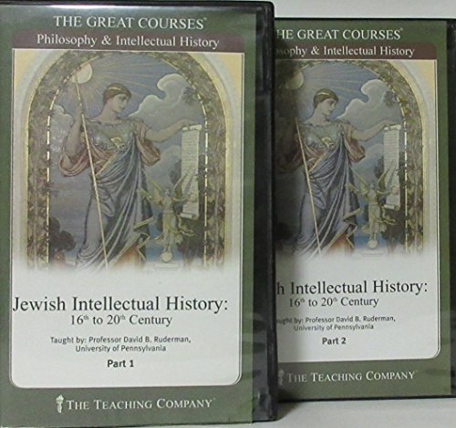 The Great Courses: Jewish Intellectual History 16th to 20th Century - 12 CDs