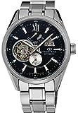[オリエント]ORIENT 腕時計 ORIENTSTAR オリエントスター モダンスケルトン 機械式 自動巻き (手巻き付き)  ブラック WZ0181DK メンズ