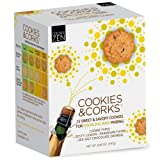 Cookies & Corks Sparkling Wine Pairing, 6.9-Ounce Boxes (Pack of 3)