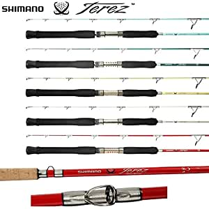 Shimano terez tzs69m spinning rod pearl for Amazon fishing rods