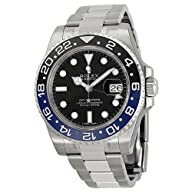 Rolex GMT Master II Black Dial Stainl…